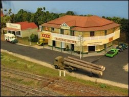The pub on the Rosevale layout