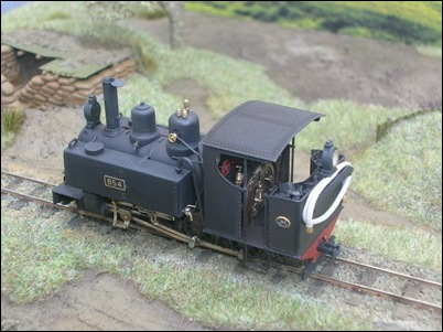 Scratchbuilt 4-6-0t Baldwin by Alex Duckworth