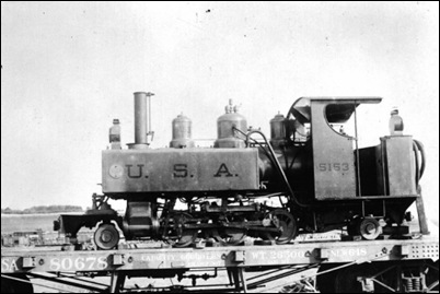 US Army 2-6-2t Baldwin - 60 cm gauge