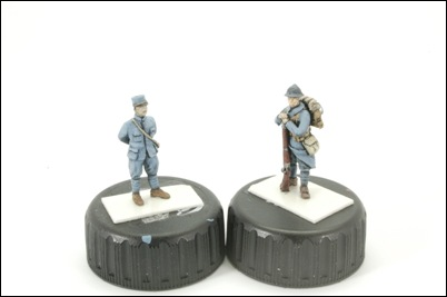 French soldiers by W^D Models