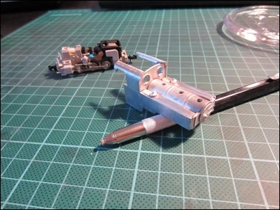 The first parts soldered together