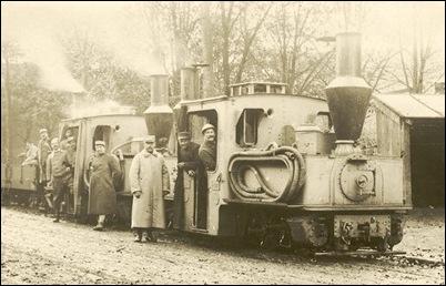 Pechot-Bourdon locomotives in a 'gris artillerie' livery